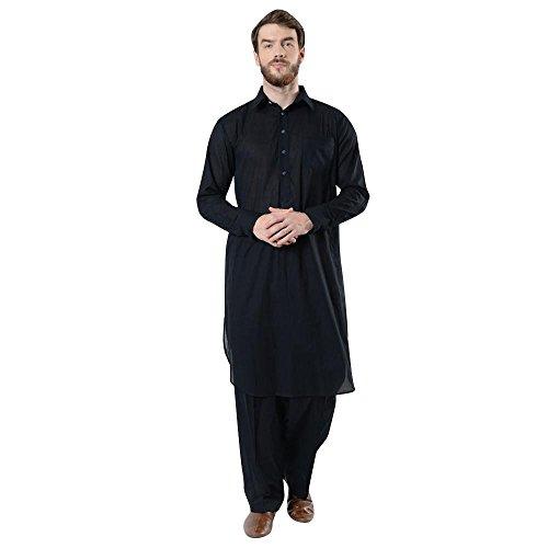 (Mens Basic Cotton Shalwar Kameez Set)