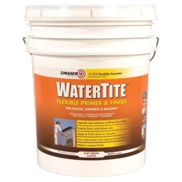 Zinsser WaterTite 5 Gal Flexible Primer and Finish Paint