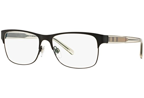 Burberry Mens Frames - Eyeglasses Burberry BE 1289 1007 MATTE