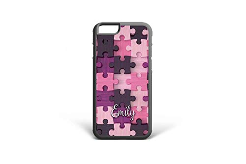 - Koldan Custom Name Jigsaw Puzzle Pieces Pattern iPhone 7 Plus Case 5 5S SE Cases iPhone 8 6 6S Plus XS Max iPhone X XR Lilac Samsung Note 8 Case Purple S7 Edge S8 Plus S6 S8 S9 Note 9 S9 Plus 2DaO463