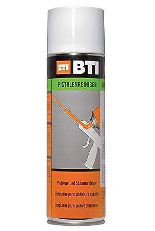Pistola limpiador 500 ml para eliminar de espuma de poliuretano de: Amazon.es: Bricolaje y herramientas