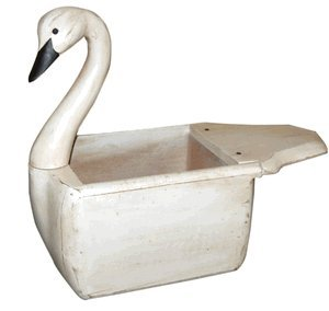 Decoys 23 in. Swan Magazine Box (Decoy Magazine)