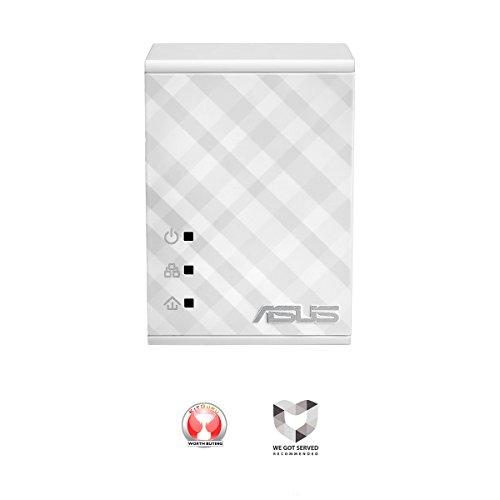 ASUS (PL-N12 KIT) 300Mbps Wireless N Powerline Adapter Starter Kit 2-Port by Asus (Image #1)