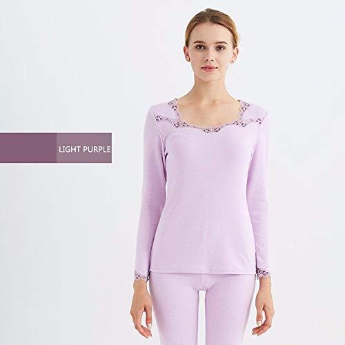 vêtement Xxl Respirant Longue Grande vêtements Ensemble Dentelle Automne De Sous Coton Sous 2xl 97 Taille Oppp Mince Femme Thermique xFY1wqnU