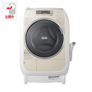 日立 9.0kg ドラム式洗濯乾燥機【左開き】ライトベージュHITACHI ヒートリサイクル 風アイロン ビッグドラム BD-V3500L-C B0093U8EAQ