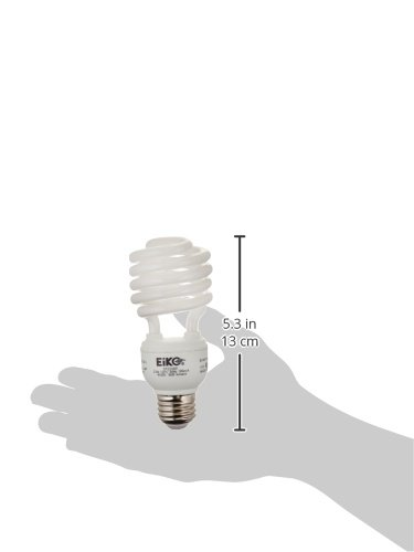 Eiko SP23//41K 23W 120V 4100K Spiral Shaped Halogen Bulbs