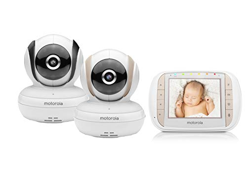 Motorola MBP35XLC Video Baby Monitor - 2 Camera Bundle