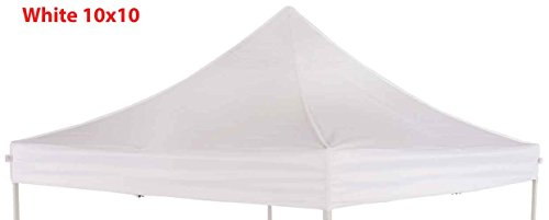 Impact Canopy Replacement Top Cover (White - Impact Canopy Top