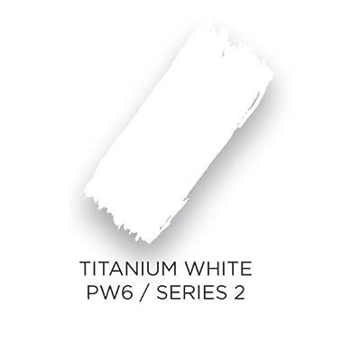 "Akua Intaglio IITW Water Based Ink, Non-Toxic, 8 oz. Jar, 2.7"" Height, 3.3"" Width, 3.3"" Length, Titanium White"