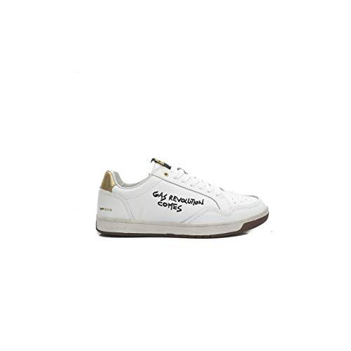 Bianco Four Sneakers Scarpe Da Bask Uomo Lth Gas wO4n0Txn