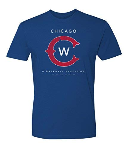 36 and Oh! Chicago C Baseball T Shirt Mens Vintage 2018 - Soft - T-shirt Vintage Cubs