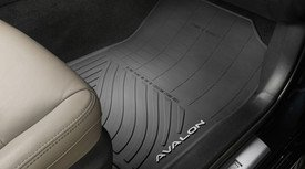 Genuine Toyota Avalon All-Weather Floor Liners PT908-07165-02. Black 4 Piece Set. 2016-2017 Avalon & Avalon Hybrid. ()