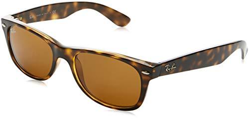Ray-Ban New Wayfarer Sunglasses,52mm,Light Havana/Brown