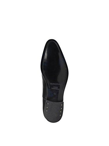 Noir de Homme Ville Chaussures Lacets pour Rochas à Todillon q48qP
