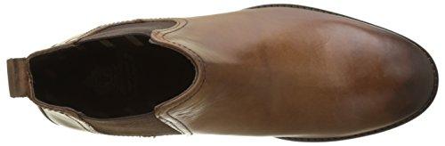 Base London Herren Holton Chelsea Boots Beige (Tan Burnished)