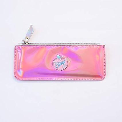 Kawaii Pencil Case Laser Peach Ins Gift Estuches School Pencil Box ...