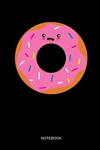Notebook: THE DONUT - Kawaii Coffee and Donut Matching Notebook / Journal. Funny Friendship Stuff & Novelty Matching Family, Best Friends, Sisters, Mom and Daughter & Couple Gift Idea. -
