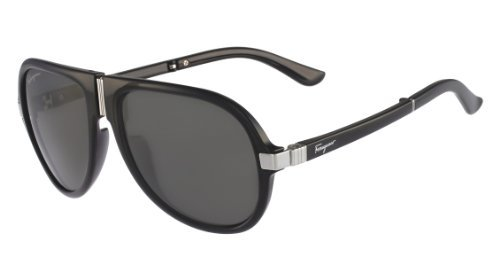 Salvatore Ferragamo Sunglasses SF662SP 001 Black 56 17 - Sunglasses Aviator Ferragamo