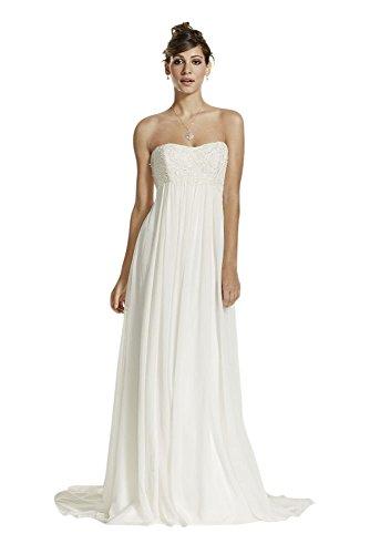 crinkle chiffon dress - 2