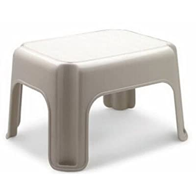 Rubbermaid Roughneck Step Stool, Bisque: Kitchen & Dining