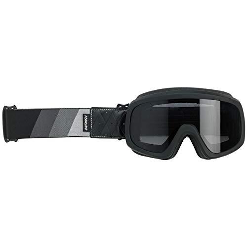 Biltwell Overland 2.0 Tri-Stripe Motorcycle Goggle - Black - S/G/B ()