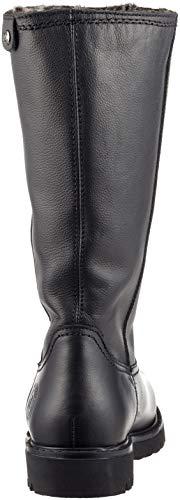 Para Jack Botas Negro Altas Mujer Panama Bambina B60 black 4qIwBdB
