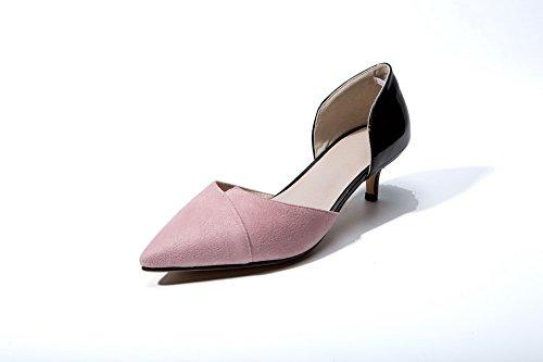 Sandalen roze Mjs03512 sleehoef met 1to9 gnTvxO85