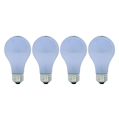 GE Lighting Reveal 40-Watt, A19 Color Enhanced Light Bulb with E26 Medium Base, 4 Pack