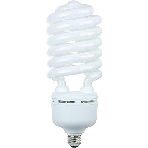 Sunlite SL105/41K/MED 105-watt T5 High-wattage Spiral CFL Light Bulb, Medium E26 Base, Cool White (105w Cfl)
