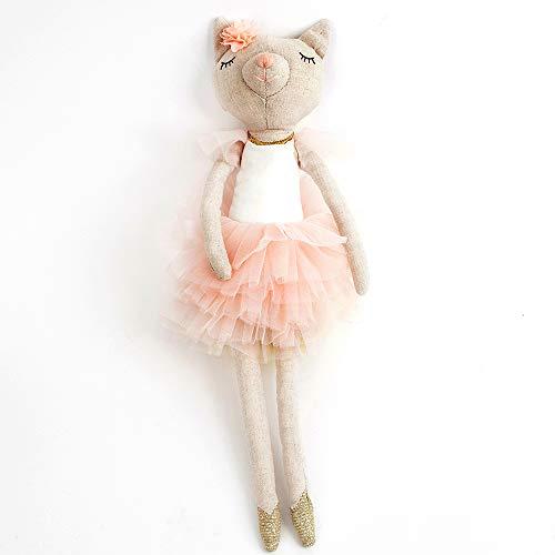 Monami Ballerina Kitty Designer Plush Doll, 15