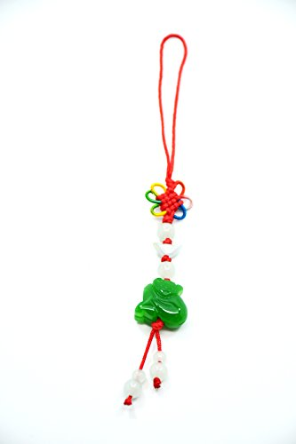 2016 Year of Monkey Chines Feng Shui:hand Carved Lucky Jade monkey Charms, Money Talisman Cell Phone Charms