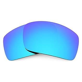Lentes Revant de reemplazo, para Oakley Oil Drum (Azul Hielo) MirrorShield®