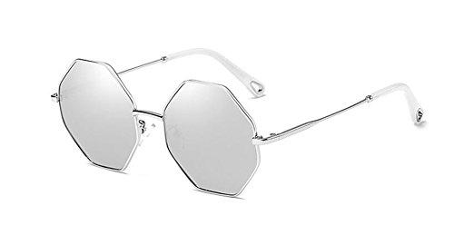 métallique vintage Comprimés inspirées retro polarisées Mercure en Lennon lunettes soleil du cercle style rond de de tCxqc0OwP
