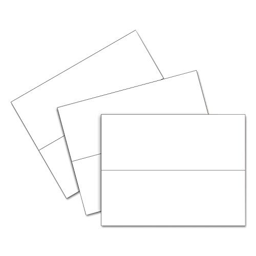 C-Line 87517 Printer-Ready Name Tent Cards, 11 x 4 1/4, White Cardstock, 50 Letter Sheets/Box by C-Line (Image #2)