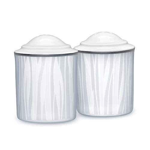 Noritake Glacier Platinum Salt & Pepper Set