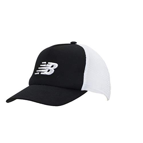 New Balance Essentials Trucker Mesh Hat Black/White