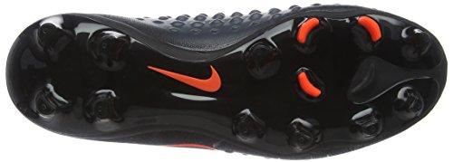 Nike Jr Magista Obra II FG, Botas de Fútbol Unisex Niños (Black/Total Crimson)