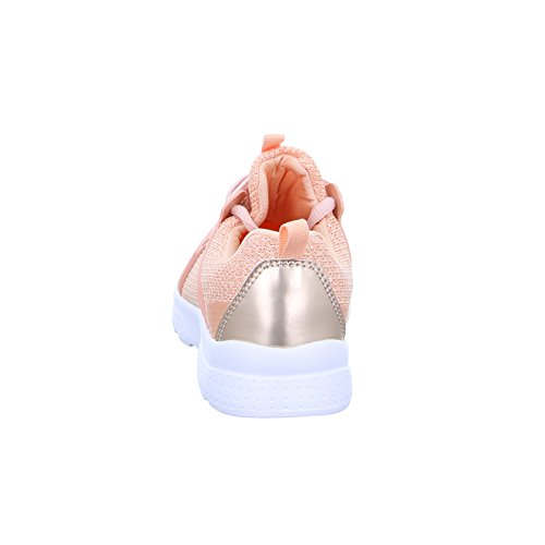Sneakers Kinder IO259-31 Mädchen Turnschuh Rosa Apricot