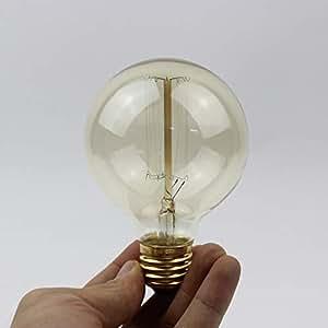 Edison incandescent decorative light G80 retro tungsten light lamp