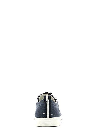 Trussardi Jeans 77S052 Sneakers Uomo Tessuto Blu Blu 42
