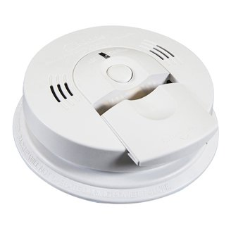 Battery Operated Smoke and (CO) Carbon Monoxide Combo Alarm, White