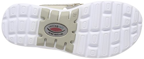 Rollingsoft Shoes Gabor con Sandalia Powder Pulsera Beige para Mujer d5qw5