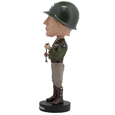 Royal Bobbles George S. Patton V2 Bobblehead: Toys & Games