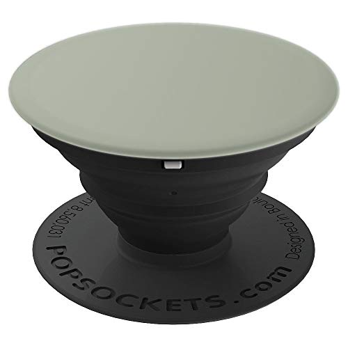 Solid Desert Sage Grey Green Color - PopSockets Grip and Stand for Phones and Tablets