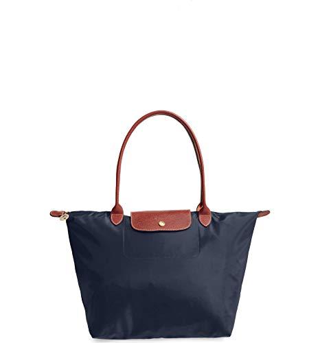 Longchamp 'Large 'Le Pliage' Tote Shoulder Bag, Navy (Longchamp Tote Navy)