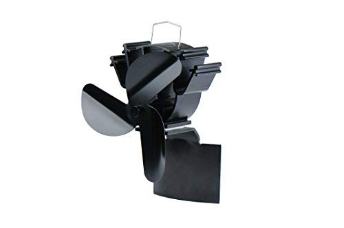Kaminofenventilator Kaminofenventilator Kaminofenventilator für geneigte Oberflächen, Befestigung am Kaminrohr von Holz Kamin 4e026c