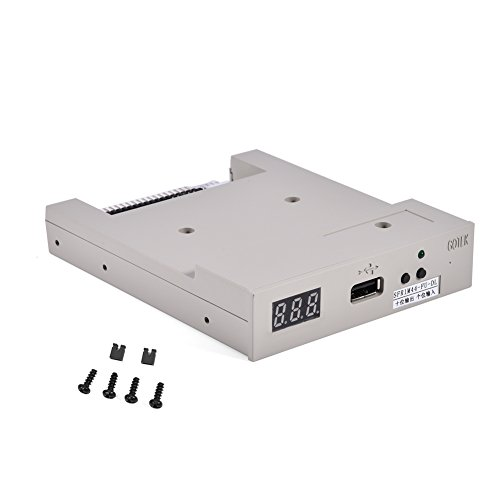 Floppy Drive, 3.5″ USB SFR1M44-FU-DL Floppy Drive Emulator for Embroidery Machine wth 1.44MB Format