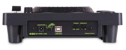 DJ-Tech CDJ-101 Ultraleichter USB Midi Controller im CD-Player-Design mit 100-mm Pitchfader