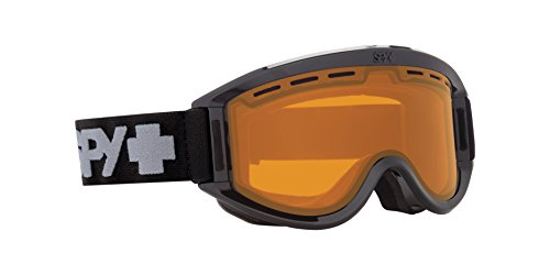 Spy Optic Getaway 313162038185 Snow Goggles, One Size (Black Frame/Persimmon - Goggle Lenses Spy