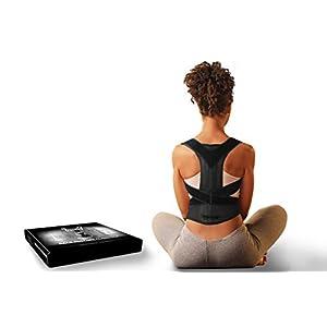 Venom Back Posture Corrector Adjustable Brace – Elastic Support for Bad Posture, Slouching, Pain Relief, Kyphosis, Shoulders, Upper Back, Neck, Thoracic, Lumbar, Clavicle, Men, Women (Small)
